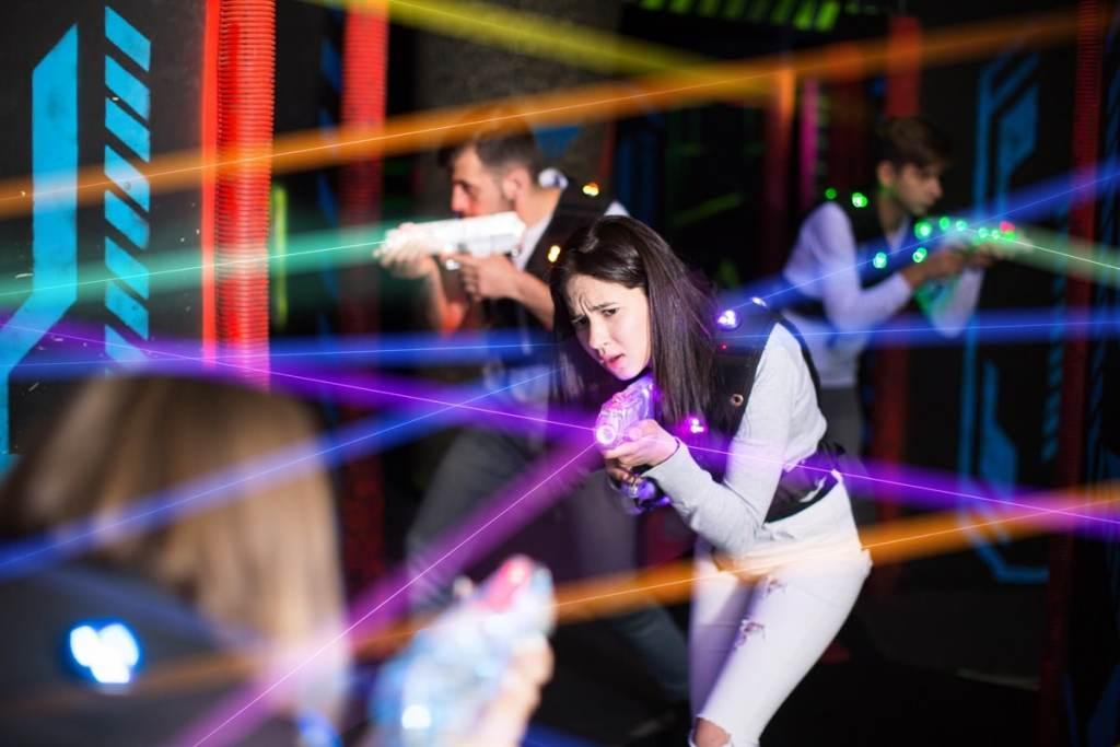 Bild Lasertag spielen Berlin