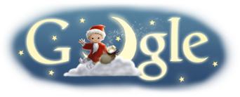 Das Sandmännchen auf der Google Startseite