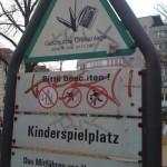 Herzlich Willkommen auf dem Schleidenplatz. Schnappschuss im April 2010.