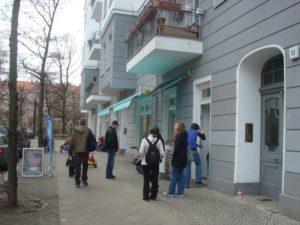 Eltern-Kind-Café Rappelkiste in der Müggelstraße, Friedrichshain