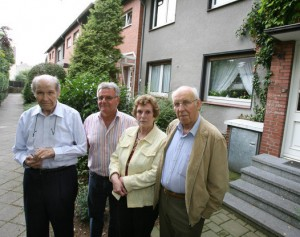 Die wohl berühmtesten Google Street View Gegner: Ludwig Hillesheim, Konrad Richter und Anne und Erich Jeschkowski. Foto: RP, Werner Gabriel