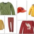 Kleidung für Jungen, mal nicht in Blau. (Fotos von http://www.esprit.de)
