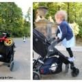 Der neue Buggy als Transportmittel für so ziemlich alles und als Klettergerüst für die kleine Dame.