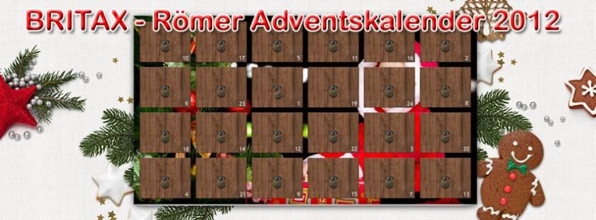 Adventskalender mit Verlosungen bzw. Gewinnspiel: Britax Römer Adventskalender