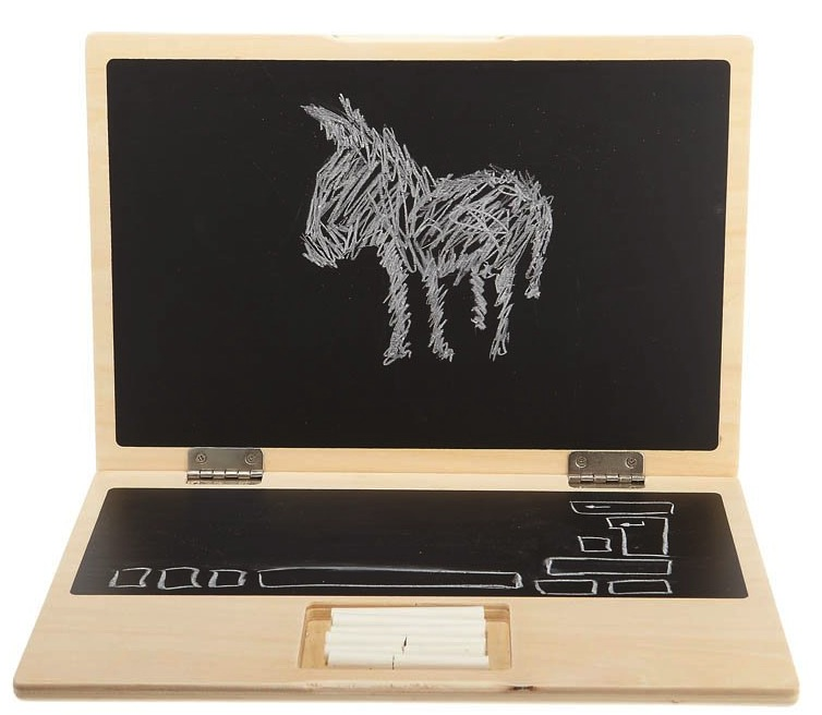 I Wood Kindercomputer für Kinder von Donkey Products