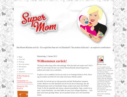 Gefunden als Mama Blog Berlin: Super Mom