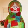 DIY Matrjoschka Piñata