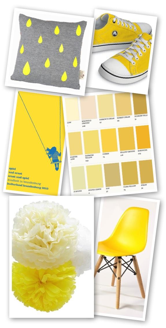 Frisch verliebt in: Gelb #yellow #gelb #inspiration