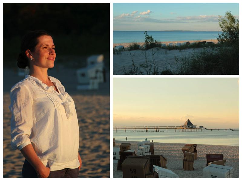 Gleich vor der Tür des Steigenberger Grand Hotel and Spa: Der wunderschöne Strand in goldener Abendstimmung