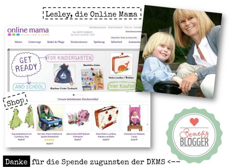 Schöner shoppen bei online mama und eine Spende an die DKMS