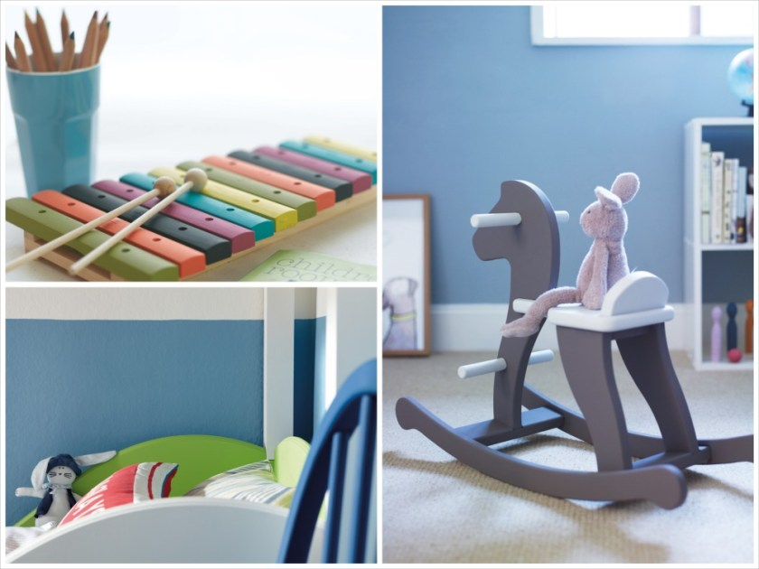 Kindersichere Farben und Inspiration fürs Kinderzimmer. (© 2014 The Little Greene Paint Company Ltd)