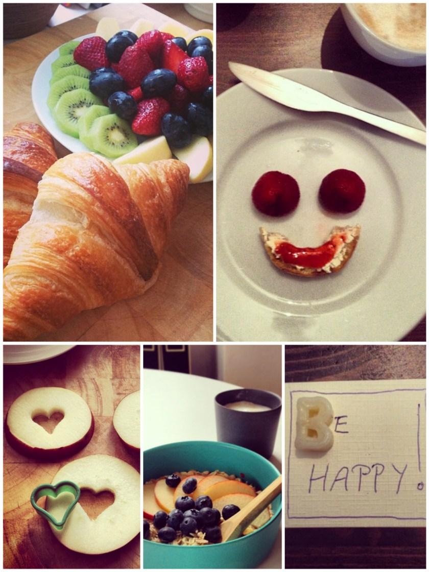 Was auf den Tisch kommt, wird gegessen. Und gelegentlich bei Instagram veröffentlicht...