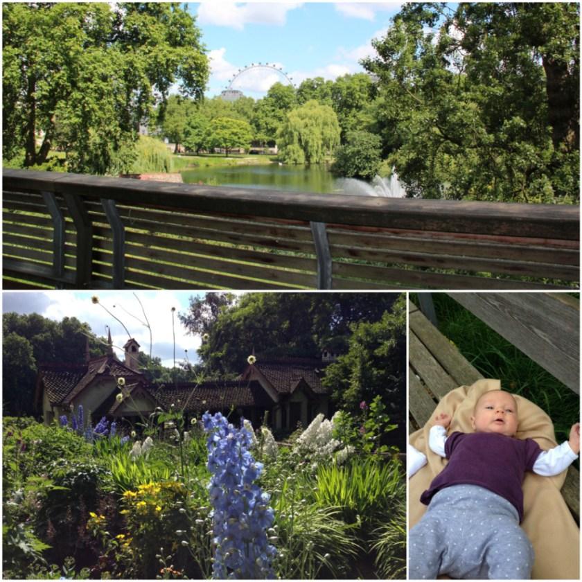 London mit Baby: St. James's Park