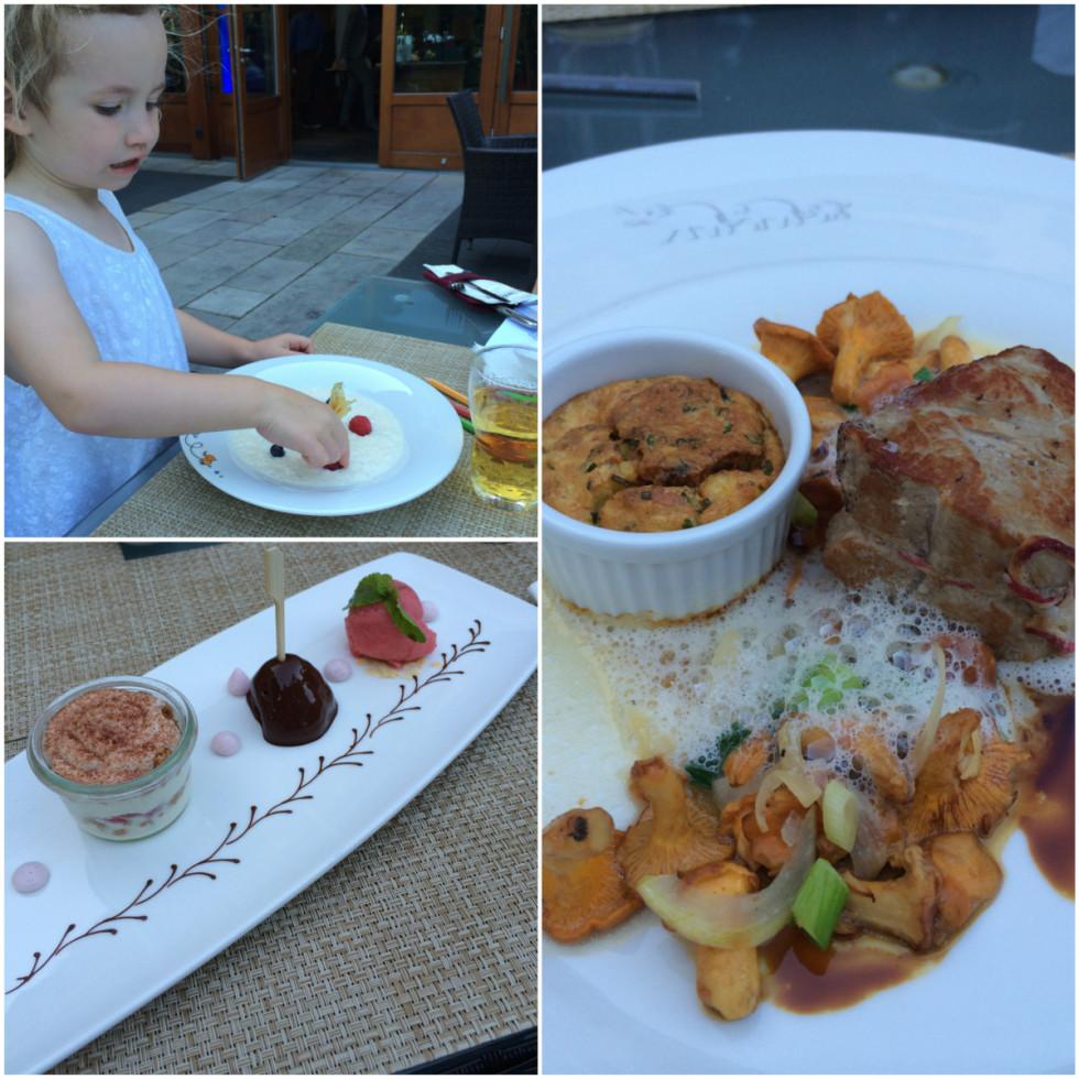 Abendessen im Lindner Park-Hotel Hagenbeck