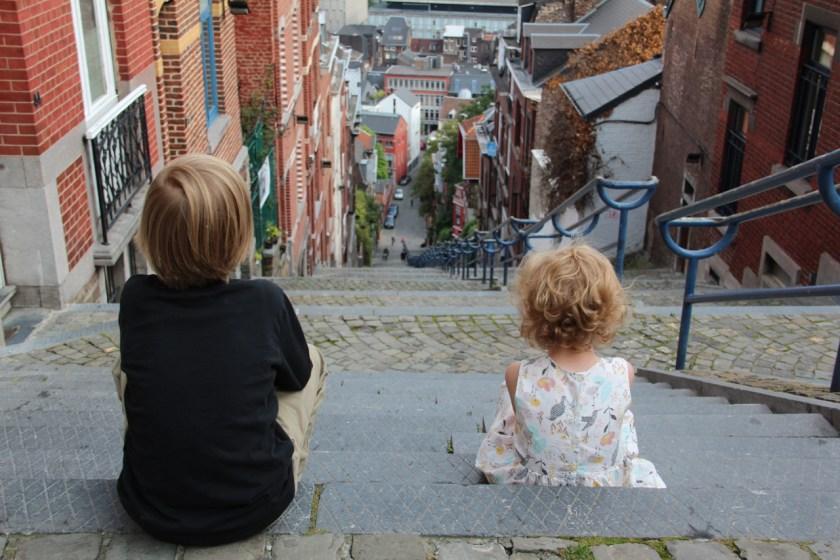 Lüttich mit Kindern entdecken kostet manchmal ein bisschen Mühe