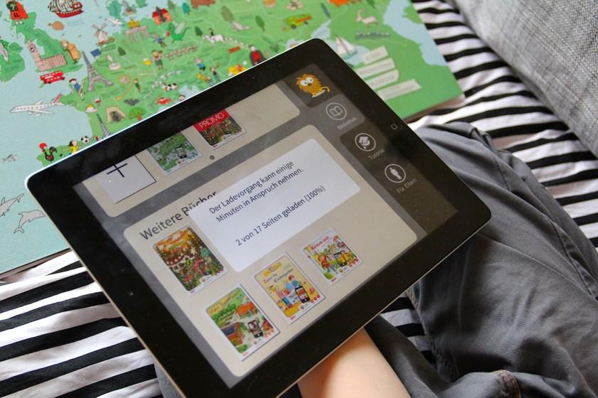 LeYo! App von Carlsen: Inhalte laden