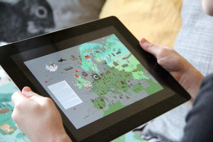 LeYo! App von Carlsen: Die Buchseite wird erkannt