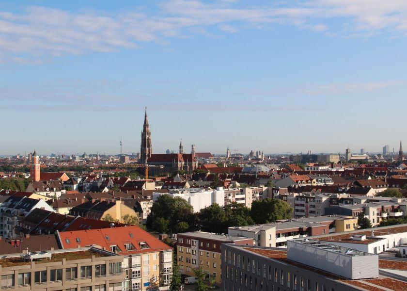 Guten Morgen in München! Die Aussichten sind gut.