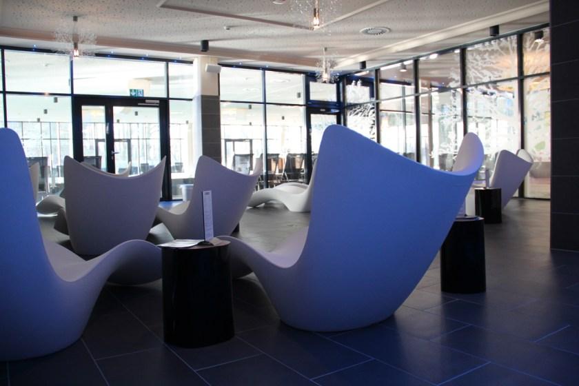 Auch das gibt es: Eine schöne Ruhezone nur für Erwachsene im a-ja Bad Saarow am Scharmützelsee.