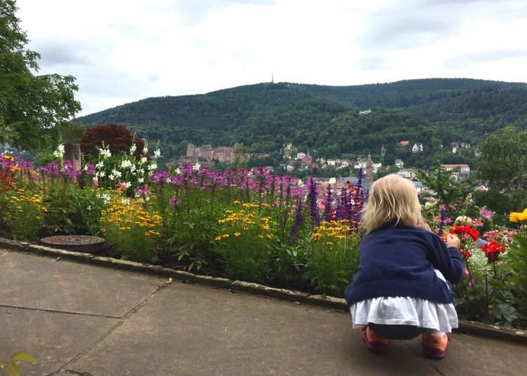 Der Philosophenweg in Heidelberg lohnt den steilen Aufstieg.