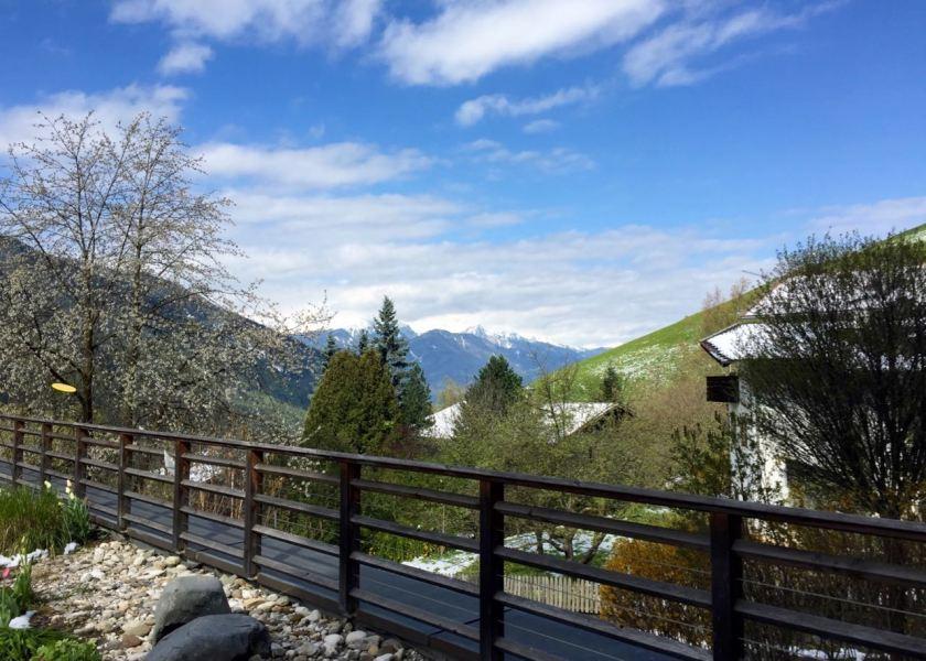 Wellness für die Augen: Der Blick über das wunderschöne Eisacktal