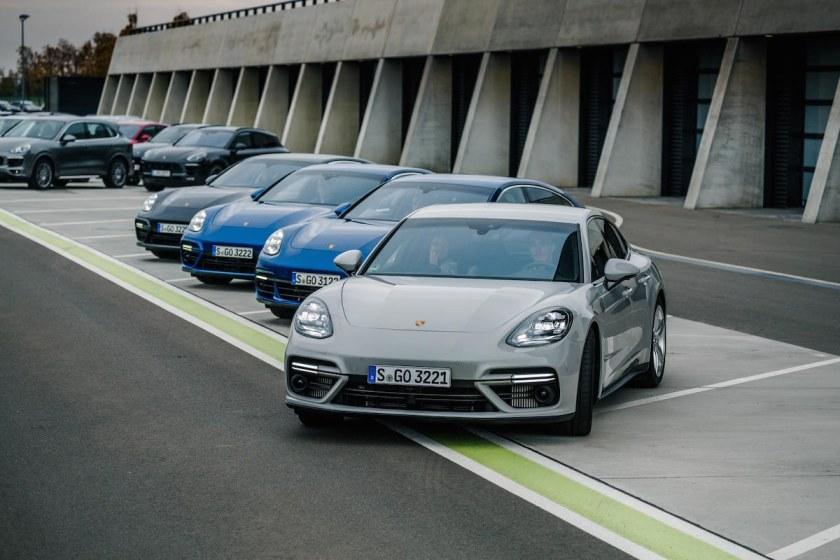 Bei Porsche in Leipzig: Nachdenken über #WorkDriveBalance auf der Rennstrecke