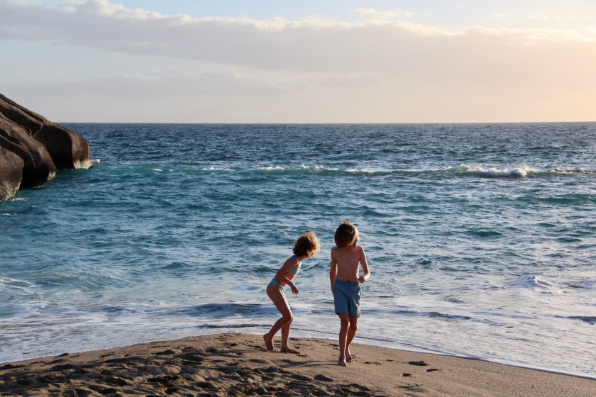 Teneriffa mit Kindern im Winter - Playa del Duque, Costa Adeje