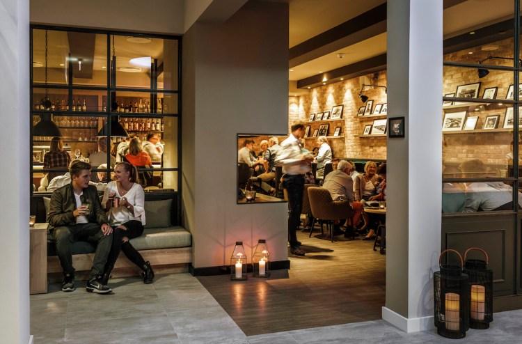 Gemütliche Abende verspricht die Bar im Hotel Küstenperle