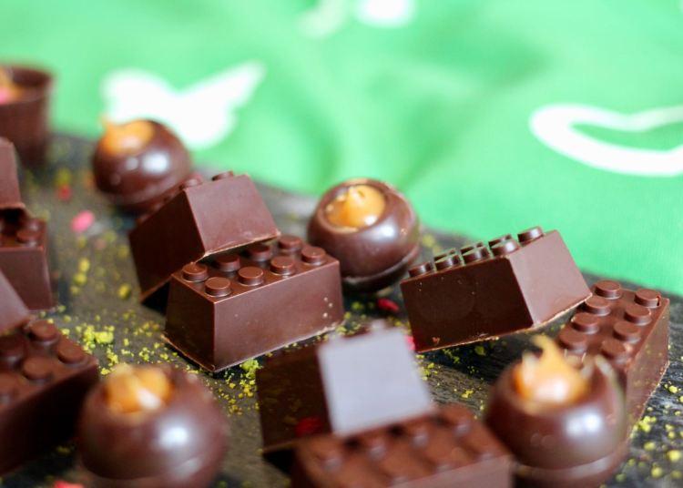 LEGOLAND Billund Resort zur Saisoneröffnung: Schokolade in Form von LEGO Steinen