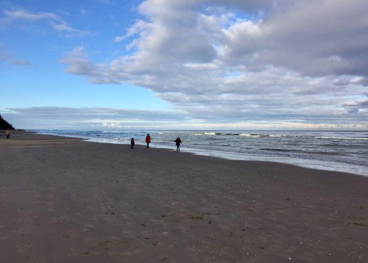 Usedom: Am Strand von Bansin