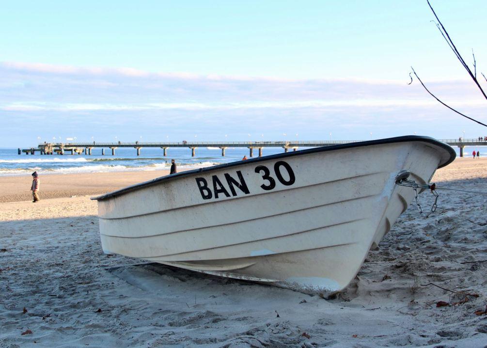 Ostsee, Usedom: Am Strand von Bansin