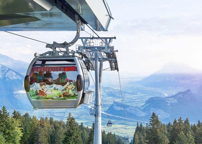 Schweiz mit Kindern: Ideen für den Familienurlaub in Graubünden, Pizolbahn