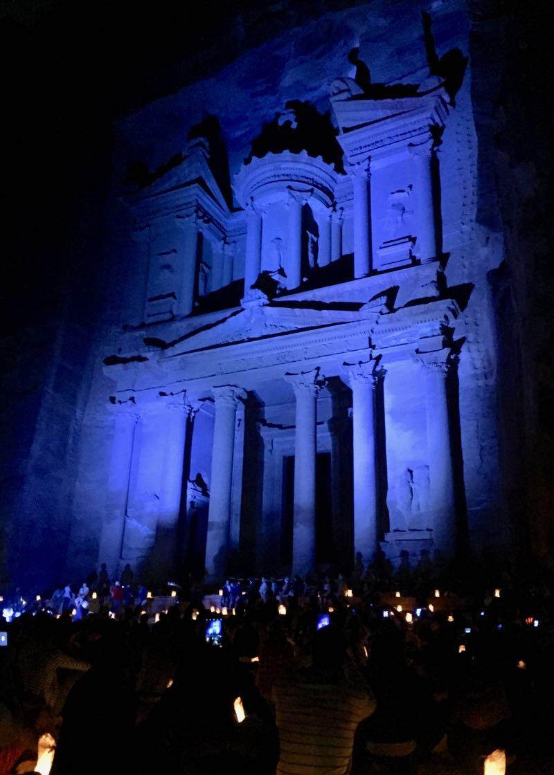 Petra by Night - Lohnt sich das mit Kindern?