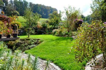 Blick über Angelikas Garten