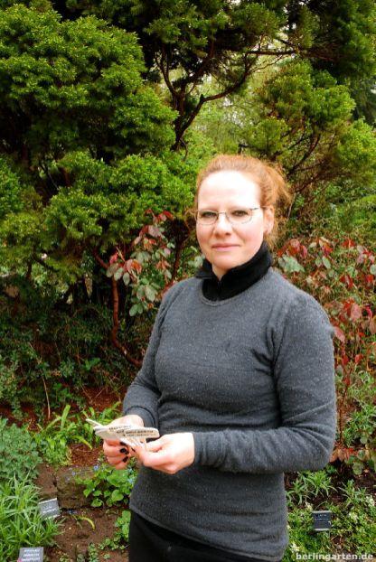 Chefgärtnerin Kristina Scheller