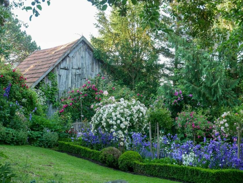 Blick in Brigittes Garten