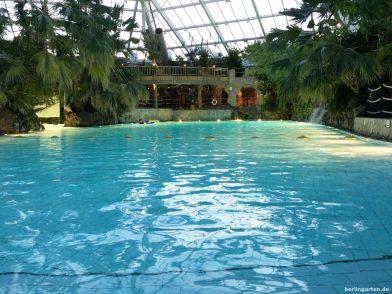Das Schwimmbad im Center Parcs Bispingen