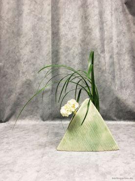 Tolle Vase für Ikebana