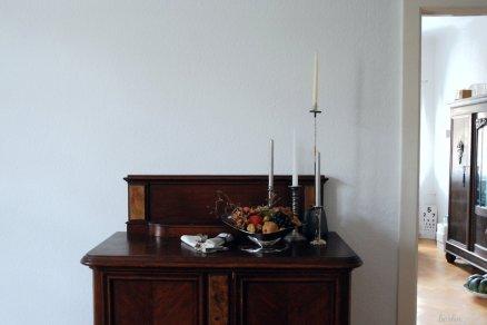 Zu unseren Vintage-Möbeln passen opulente Arrangements