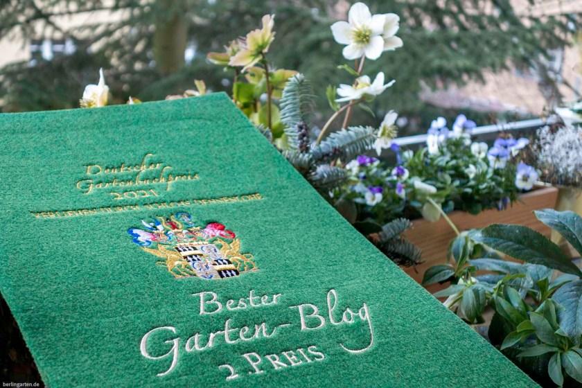 Deutscher Gartenbuchpreis: berlingarten in der Kategorie Bester Gartenblog auf Platz 2