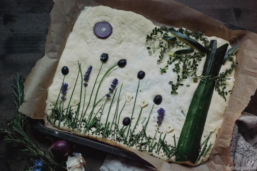Rezept Garden Focaccia
