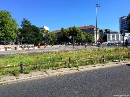 Grünstreifen am Ernst-Reuter-Platz