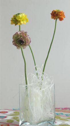 Die Glasnudeln haben etwas leichtes und passen gut zum Frühlingslook.
