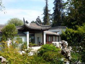 Haus im chinesischen Garten