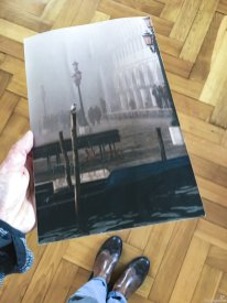 Nebel in Venedig - Urlaubserinnerungen werden bei dem Foto wach