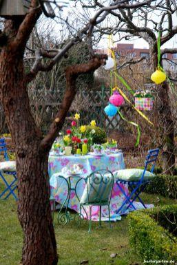 Osterfest Garten