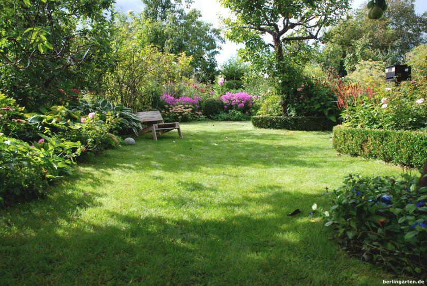 So präsentiert sich der berlingarten-Rasen im September