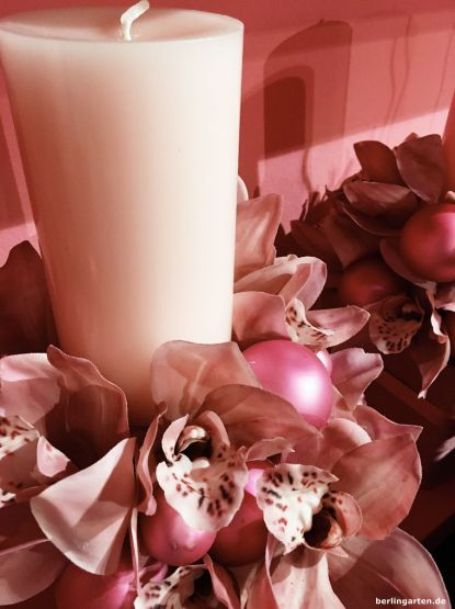 Advent mit Orchideen