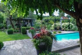 Die stilbildenden Elemente von Sebastians Garten auf einen Blick