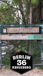 Seiteneingang Prinzessinnengarten